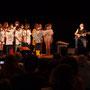 Création musicale Siladigueron. Elèves de CM1/CM2 de l'école primaire de l'Estey (Le Tourne), Jack Tocah, Carole Simon-Tocah. Lundi 7 juin 2021, salle culturelle de Cénac