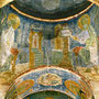 Илл.7 Фрески в церкви Преображения Господня в Полоцке. Вт. пол. XII в.