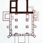 Илл.9 План первой каменной церкви в Вильне. XIII в.