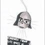 """Change the bulb""  Nerostift, Tintenschreiber (verkauft)"