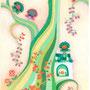 トリさんシリーズ-緑-