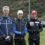 Biathlon-Kader OSSV: Elio Bacchetta, Manuel Lusti, Nirando Bacchetta