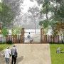 Proposition d'une entrée sur le parc Adrien Barthélémy