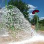 Aire de jeux aquatiques