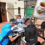 pause ... an espresso ... und karte studieren