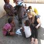 Johanna Nelles in Indien