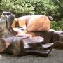 sculpture pour les petits en bois de séquoia