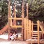 petite structure ludique en bois de chêne