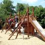 """structure en bois de chêne """"la reconstruction"""""""