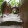 """""""anatomie"""" suclpture ludique en séquoia"""