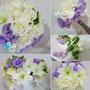 Boda en tonos lilas y blancos