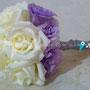 Licianthus y rosas de invernadero