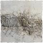 Postversand möglich - charmes platinum 40 x 40 x 2 cm / acryl on canvas