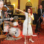 Jenny Boneja & The Ballroom Shakers (USA,D), Intern. Borkumer Blues Nights 2011, © Foto: Borkum