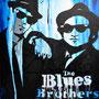 Blues Brothres (2012), 120 x 80 cm, Acryl auf Leinwand