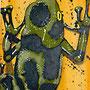 Poison arrow  (2007) 30  x 90 cm