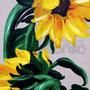 verschämte Blüten (2007), 70 x 30 cm