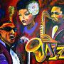 JazzTrio  (2007) 80 x 100 cm