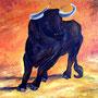 El Toro  (2007) 90 x 100 cm