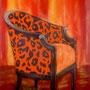 Wilder Sessel (2006) 70 x 100 cm