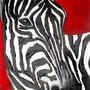 Zebra (2007) 80 x 30 cm
