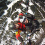 Foto von oben beim Tandemfliegen in Werfenweng Flugschule Austriafly (Foto: Austriafly)