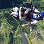 Gute Thermik beim Tandemfliegen (Foto: Austriafly)