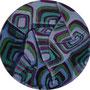 Rondell / Tempera auf Malpappe / 20cm / 2010
