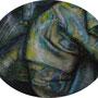 Rondell / Tempera auf Malpappe / oval cm / 2010
