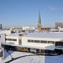 Gesundheitshaus Dortmund, auf der Dachterasse