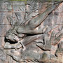 Ostfriedhof Dortmund | Grabmal Bernhard Hoetger (1874-1949), Bildhauer. Seine Urne wurde 1969 von der Schweiz nach Dortmund überführt und hier beigesetzt