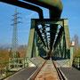 Brückenzug Hansa mit Ringgasleitung, Dortmund - Huckarde