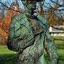 """""""Hüttenmann"""" Von Friedel Dornberg 1953 -  2. Standort im Westfalenpark"""