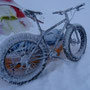Fat-Bike in tough conditions.