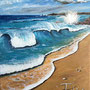 « Bretawaii » huile sur toile (61x45 cm)