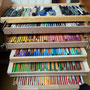 Le meuble à crayons phase 2