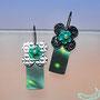 21104902     Ohrhängerpaar   Silber geschwärzt   Laminati    Achatblüten   Süsswasserzuchtperlen    250 €