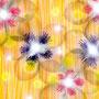 「日だまりに咲く」   A4/ 2012年作