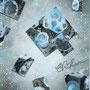 「雪の降る街」  post card size/ 2013年作