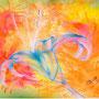 「灼熱の百合」  A4/ 2012年作