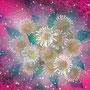 「デイジーの花束」 post card size/  2012年作