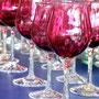 金赤ワイングラス