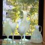 グリーンオパール酒注ぎ&グラス
