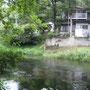 2009年7月25日、忍野温泉裏