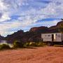 Übernachtungsplatz am Apache Lake