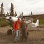 Gary mit seiner Cessna