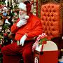 Besuch beim Weihnachtsmann in North Pole