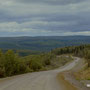 ersten Kilometer auf dem Dalton Hwy