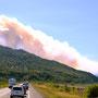 Waldbrand bei Anchorage
