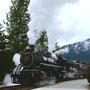 Skagway, White Pass Train